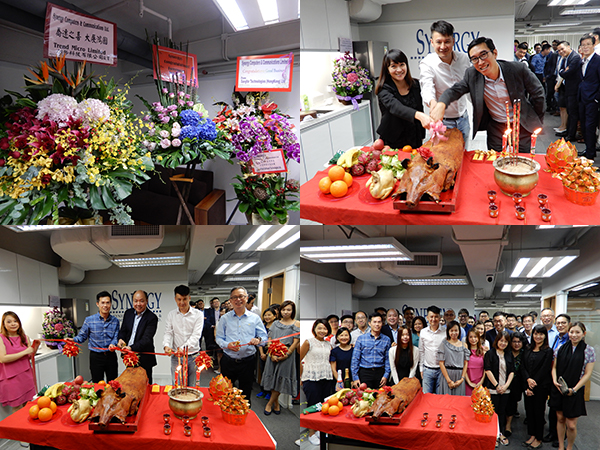 Grand Opening of Synergy's New Office in Kowloon Bay